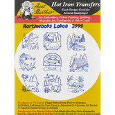 Northwood Lodge Embroidery Transfer Pattern